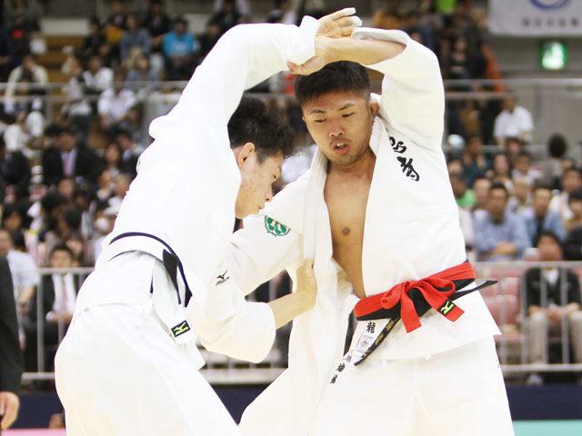 男子60kg級 決勝<br>川端龍−石川裕紀�@