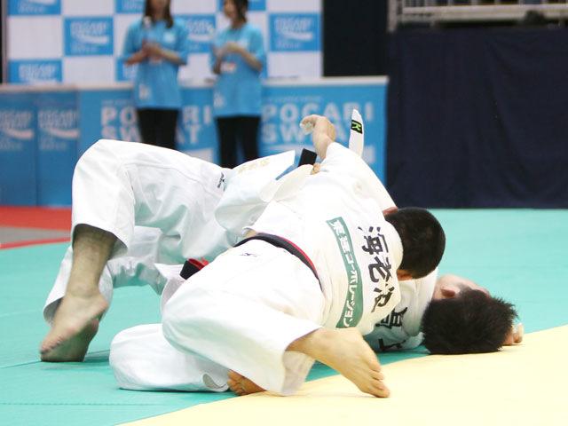 男子66kg級 準決勝 海老沼匡−高上智史�@