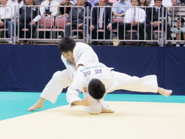 男子66kg級 準決勝 福岡政章−森下純平�@