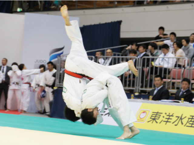 男子66kg級 準決勝 福岡政章−森下純平�A