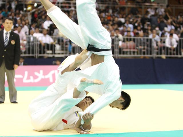 男子73kg級 準決勝 中矢力−中村剛教�@