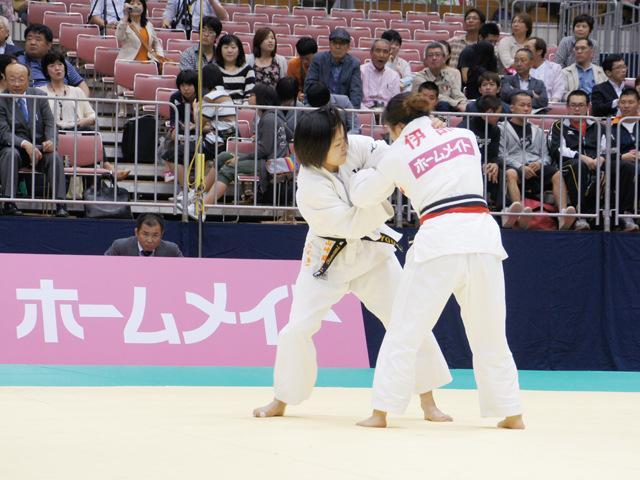 女子48kg級 準決勝 山崎珠美−伊部尚子�@