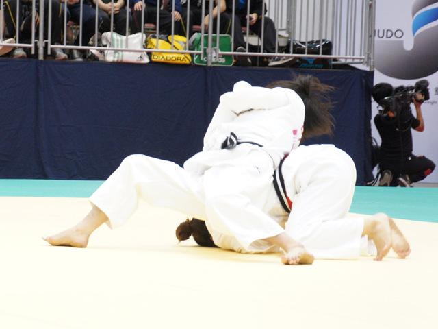 女子48kg級 準決勝 山崎珠美−伊部尚子�A