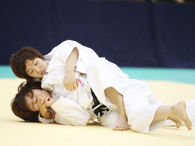女子52kg級 準決勝 橋本優貴−志々目愛�@