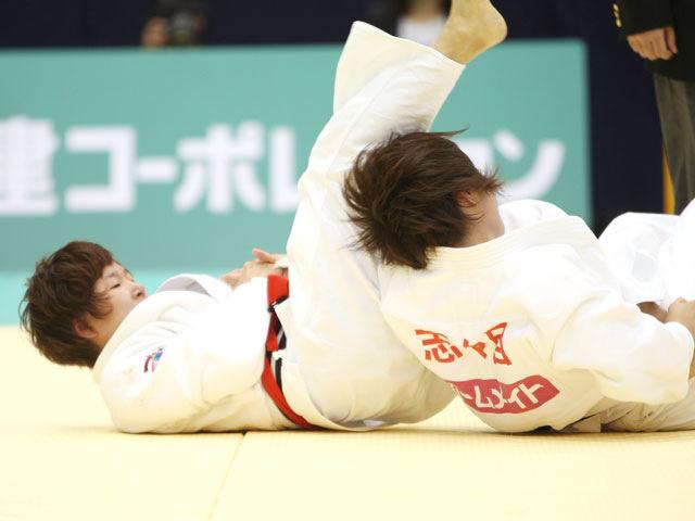 女子52kg級 準決勝 橋本優貴−志々目愛�A