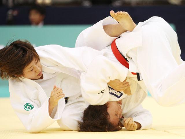 女子52kg級 決勝 橋本優貴−西田優香�@