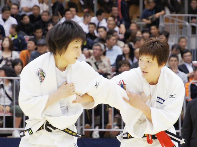 女子57kg級 準決勝 平井希−宇高菜絵�A
