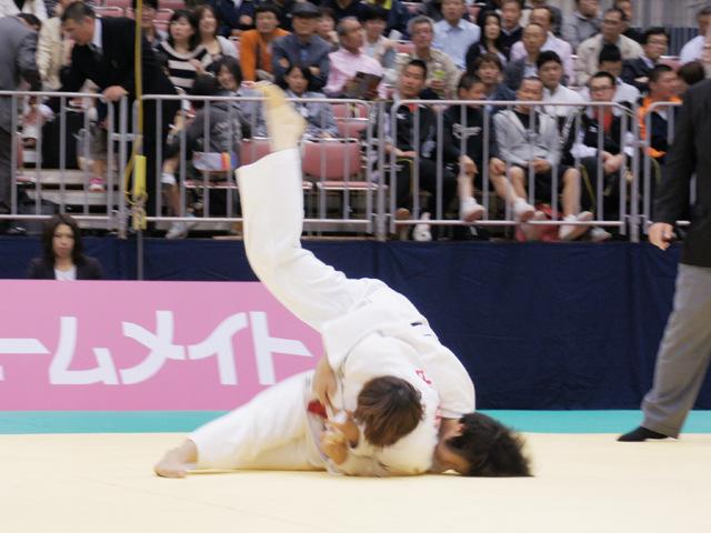 女子63kg級 準決勝 田中美衣−田代未来�A