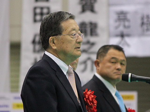 全日本柔道連盟 宗岡会長挨拶