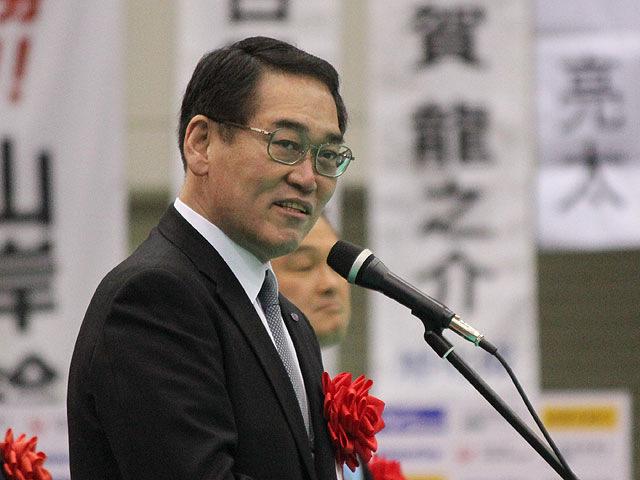 大会名誉会長 西日本新聞社 川崎社長挨拶