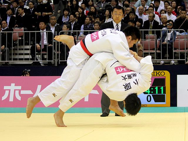 男子81kg級1回戦_丸山剛毅vs小原拳哉�@