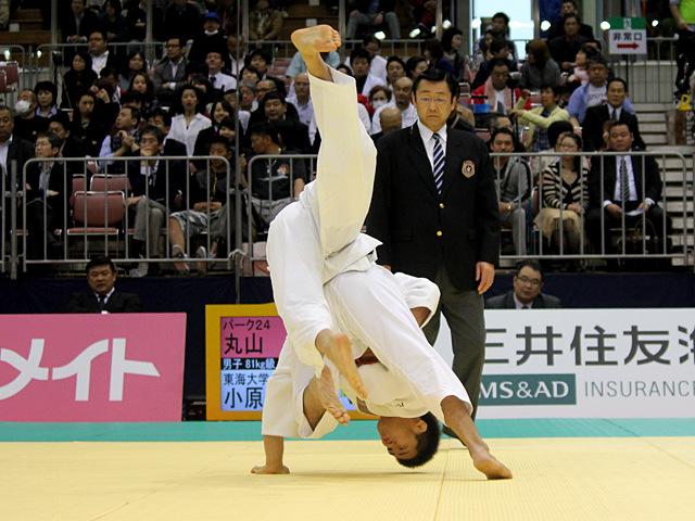 81kg級 丸山剛毅 vs 小原拳哉