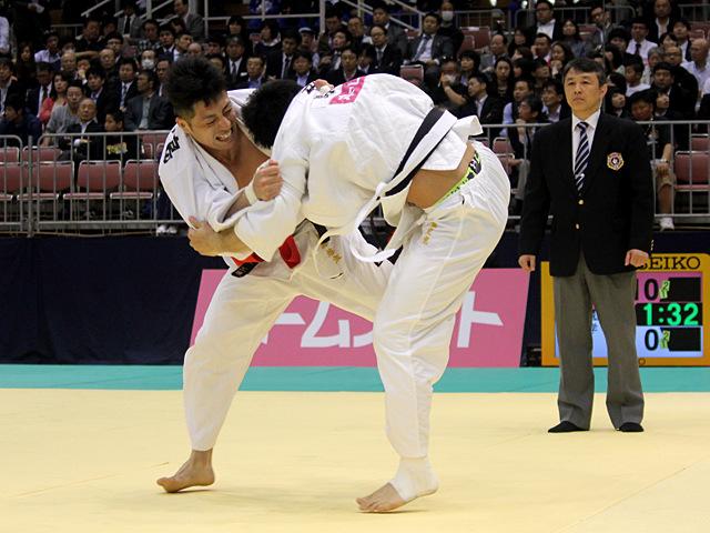 男子81kg級1回戦_長島啓太vs中園史寛