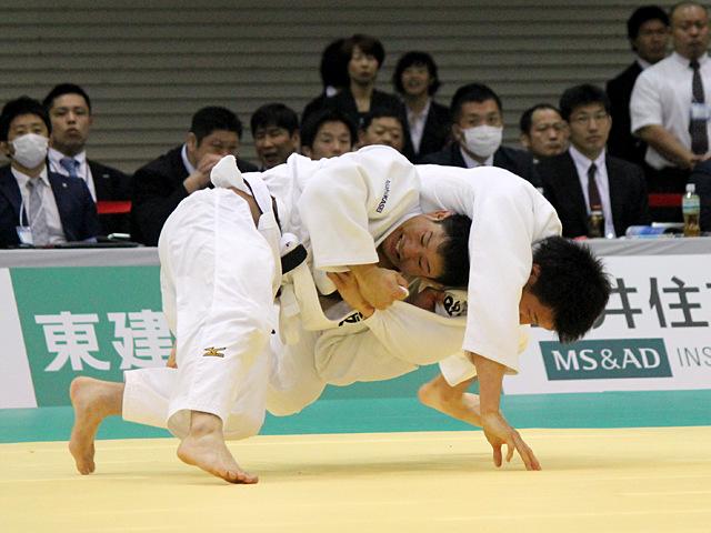 男子81kg級1回戦_渡邉勇人vs海老泰博