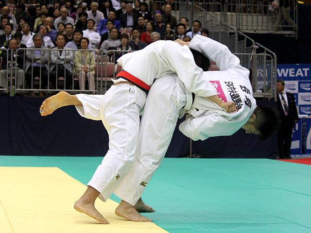 男子81kg級準決勝戦_丸山剛毅vs長島啓太�B