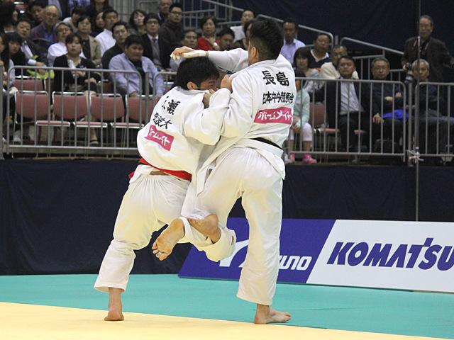 男子81kg級決勝戦_永瀬貴規vs長島啓太�@