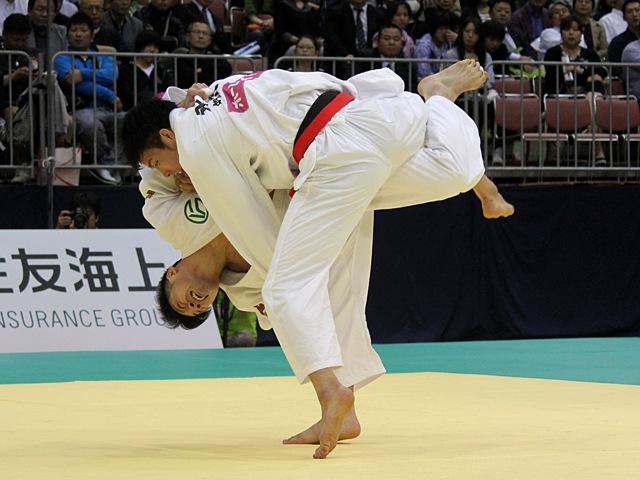 男子81kg級決勝戦_永瀬貴規vs長島啓太�A