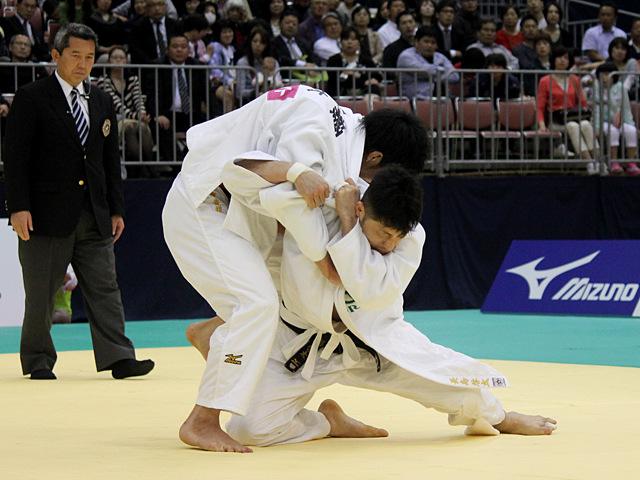 男子81kg級決勝戦_永瀬貴規vs長島啓太�B