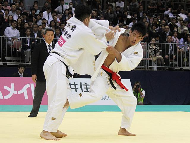 男子81kg級決勝戦_永瀬貴規vs長島啓太�C