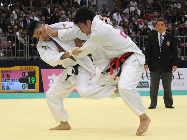 男子81kg級決勝戦_永瀬貴規vs長島啓太�D