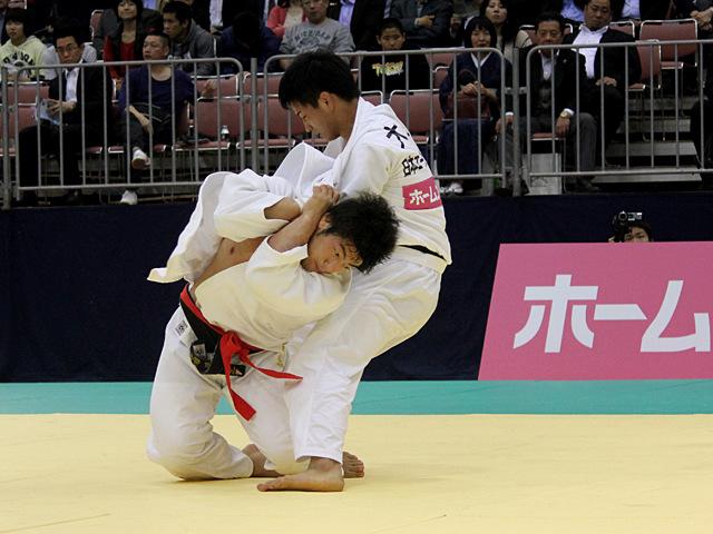 男子90kg級1回戦_吉田優也vs大辻康太�@