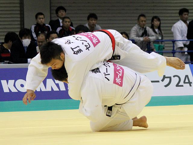 男子90kg級1回戦_釘丸太一vs菅原健志