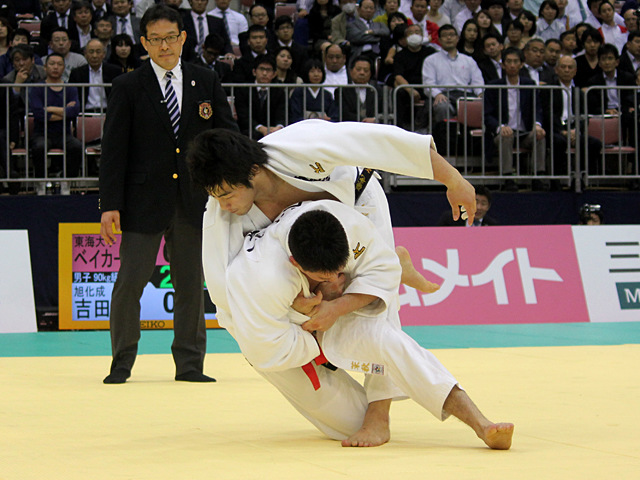90kg級 ベイカー茉秋 vs 吉田優也