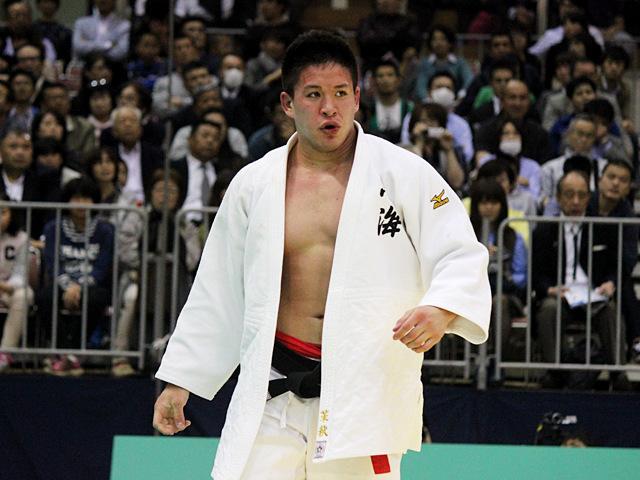 男子90kg級決勝戦_ベイカー茉秋vs吉田優也�F