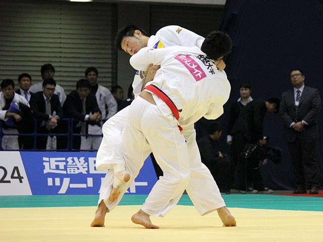 男子100kg級1回戦_熊代佑輔vs後藤隆太郎�@