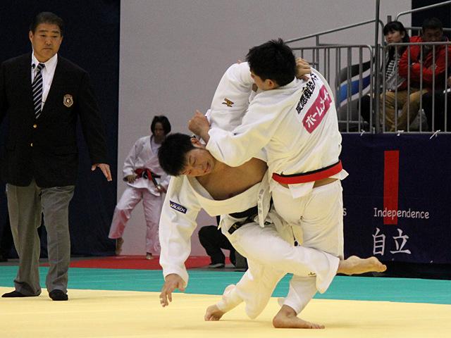 男子100kg級1回戦_熊代佑輔vs後藤隆太郎�A