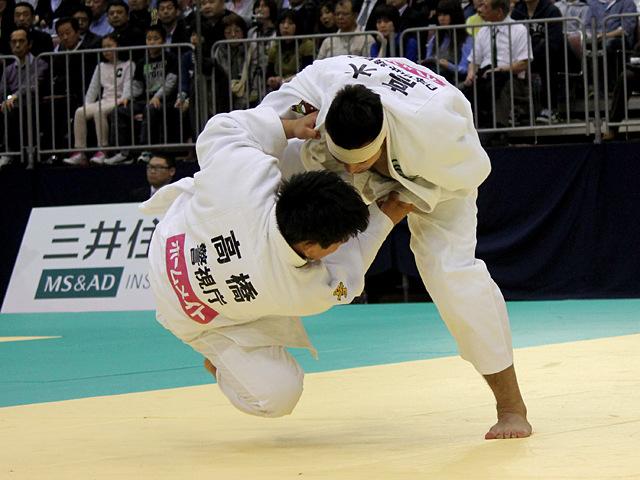 男子100kg級1回戦_高木海帆vs高橋良介