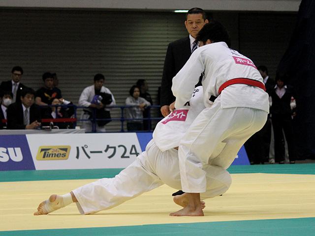 男子100kg級準決勝戦_熊代佑輔vs羽賀龍之介