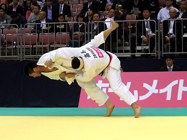 男子100kg級準決勝戦_高木海帆vs増渕樹�@