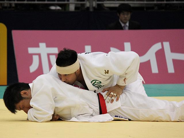 男子100kg級決勝戦_高木海帆vs熊代佑輔�A