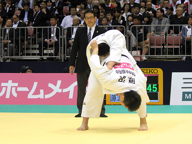 男子100kg超級準決勝戦_王子谷剛志vs原沢久喜�A