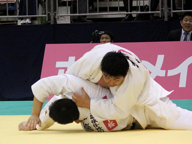 男子100kg超級準決勝戦_王子谷剛志vs原沢久喜�C