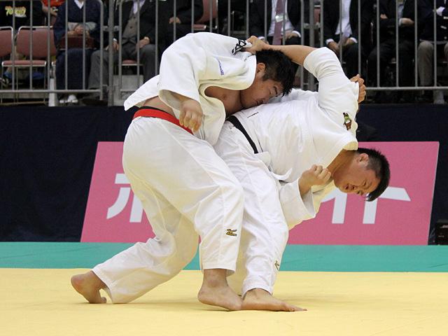 男子100kg超級準決勝戦_王子谷剛志vs原沢久喜�D