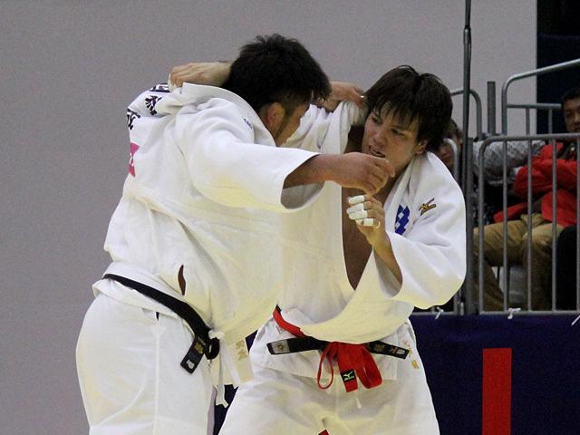 男子100kg超級準決勝戦_七戸龍vs西潟健太�@