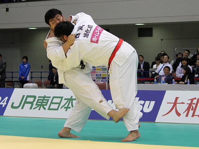 男子100kg超級決勝戦_西潟健太vs王子谷剛志�@