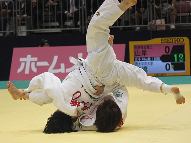 48kg級 山岸絵美 vs 高橋瑠衣