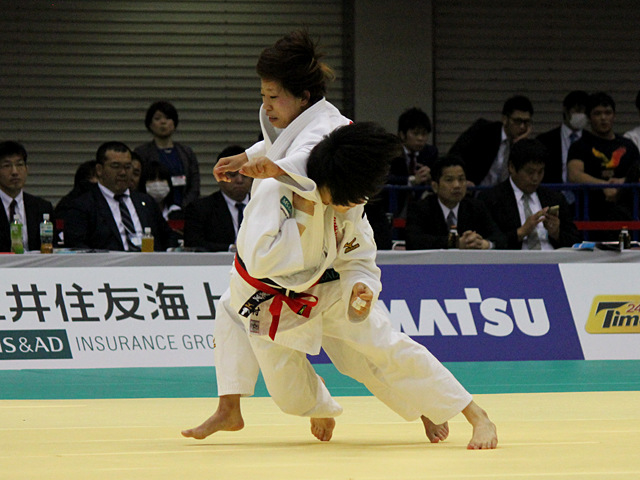 女子52kg級準決勝戦_中村美里vs西田優香�@