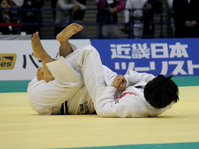 女子52kg級準決勝戦_中村美里vs西田優香�A