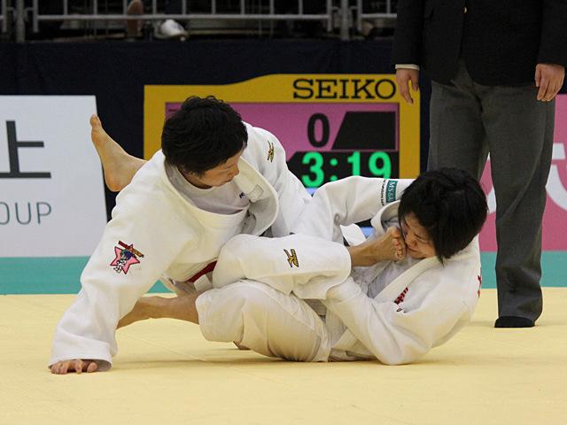 女子52kg級決勝戦_中村美里vs橋本優貴�@