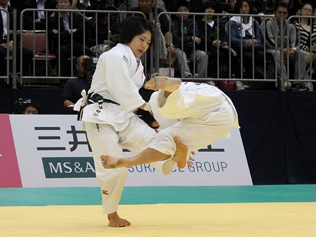 女子52kg級決勝戦_中村美里vs橋本優貴�A
