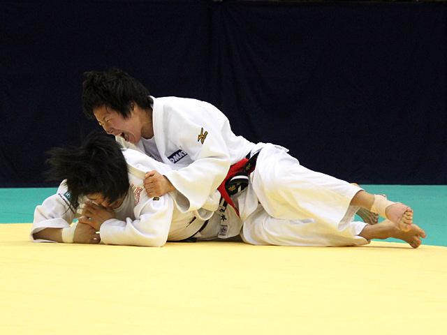 女子52kg級決勝戦_中村美里vs橋本優貴�C