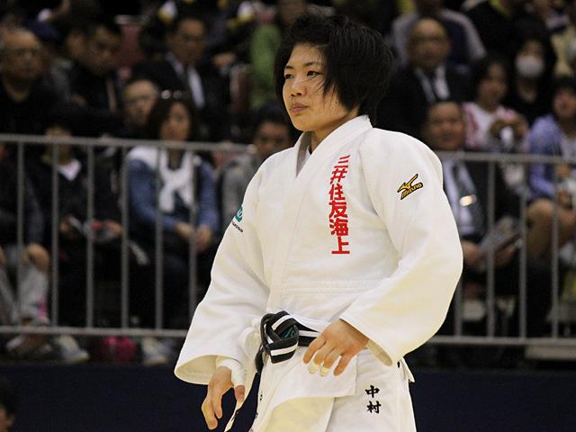 女子52kg級決勝戦_中村美里vs橋本優貴�D