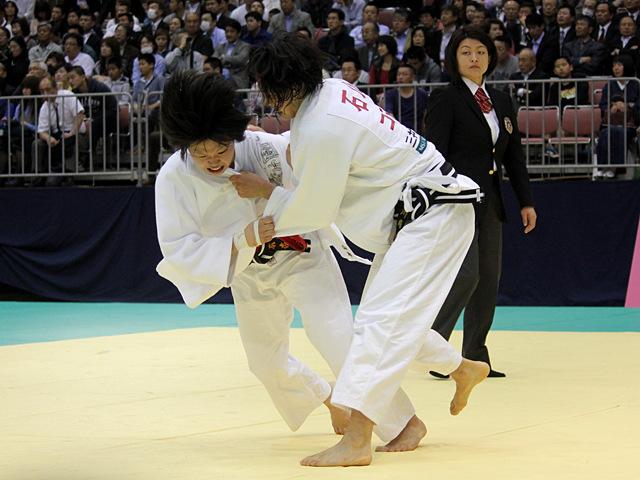 女子57kg級1回戦_山本杏vs石川慈