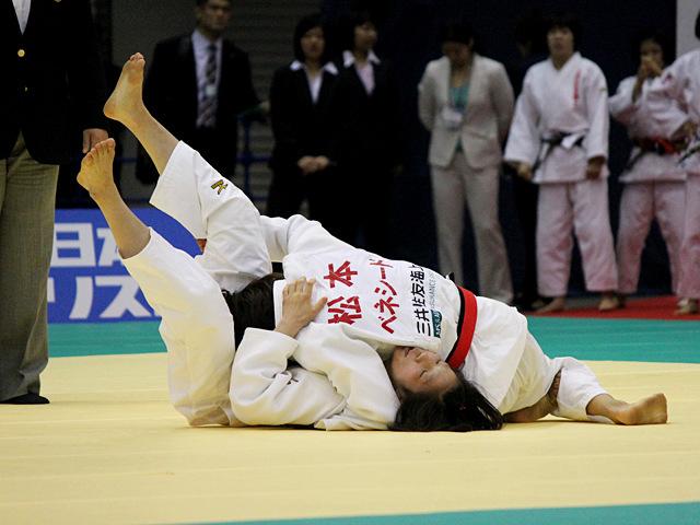 女子57kg級1回戦_松本薫vs渡部優花
