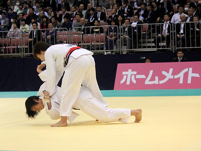 女子57kg級準決勝戦_宇高菜絵vs山本杏�A