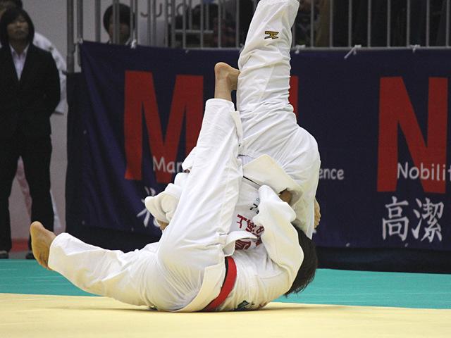 女子57kg級準決勝戦_松本薫vs玉置桃�A